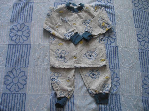 Детская пижама для мальчика 2-4 года