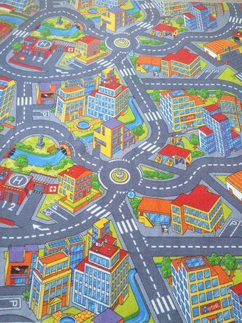 Wykładzina dywanowa SMART CITY do pokoju dziecka