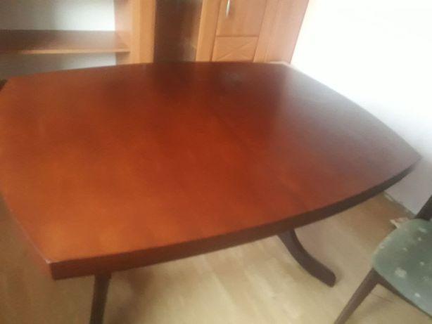 Stół rozkładany + 4 krzesła stan idealny
