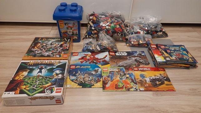 Klocki Lego, MIX 5,5 kg, ok. 20 zestawów
