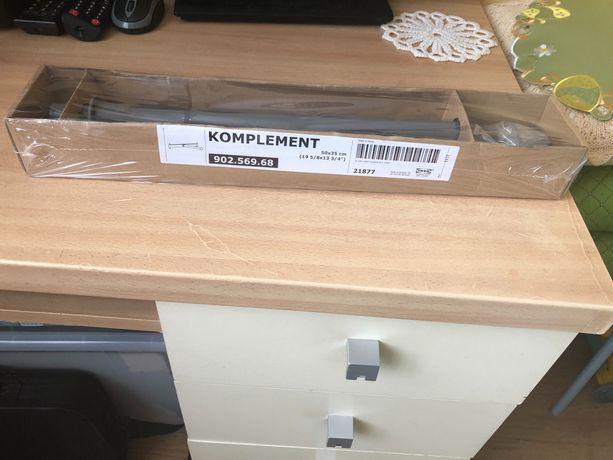 Nowy IKEA KOMPLEMENT wysuwany wieszak drążek do szafy