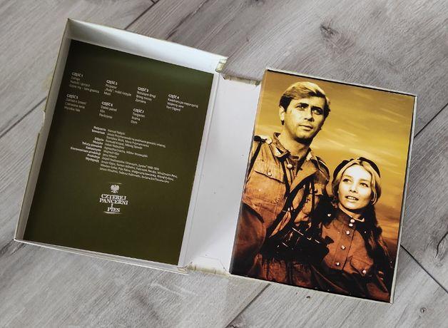 DVD BOX Czterej Pancerni i Pies 21 odcinków