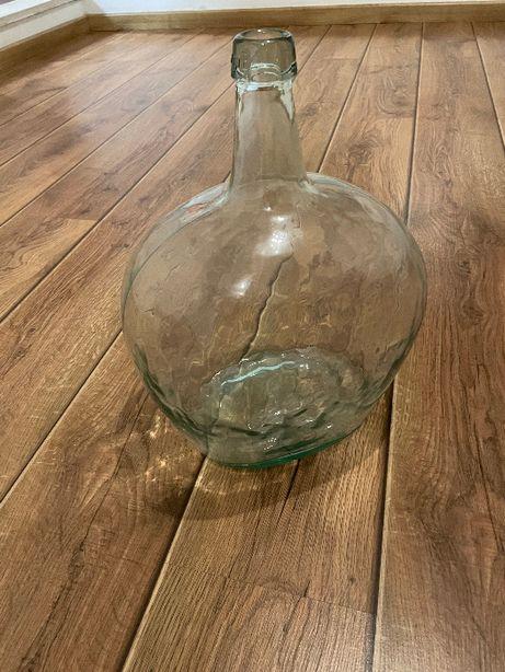 garrafao em vidro, antigo