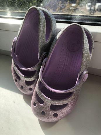 Crocs кроксы 15,5 см C8, тапочки Waldi