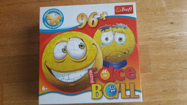 Puzzle face Ball trefl