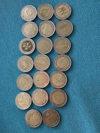 Vendo moedas de 2€