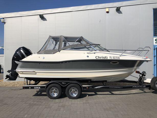 Łódka Utter D66 , Mercury Verado 250