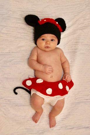 Fatinho artesanal Mickey ou Minnie. Novo
