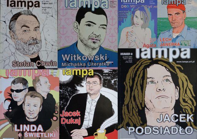 Czasopismo LAMPA 12/2004 r., 02, 09, 10/2005 r. 01, 03, 04/2006 r.