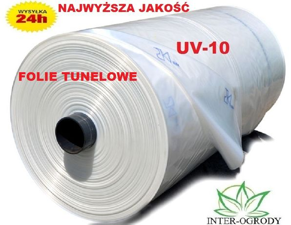 Folia Ogrodnicza TUNELOWA 6m/szer UV10 SZKLARNIA