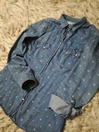 Koszula jeansowa roz S CROPP bdb