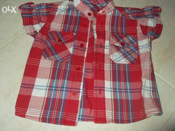 Camisa de rapaz 18/24 meses