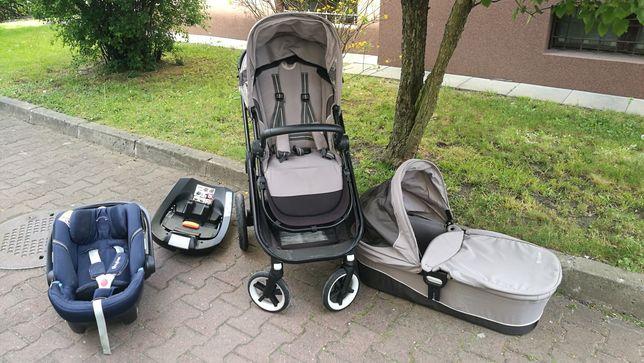 Wózek Cybex Balios M 4w1 - spacerówka, gondola, fotelik, isofix