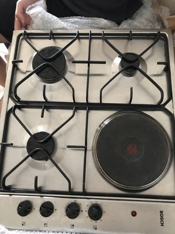 Placa de fogão a gas e induçao