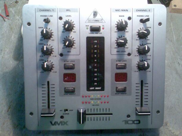 Пульт ДиДжея Behringer Pro Mixer VMX 100