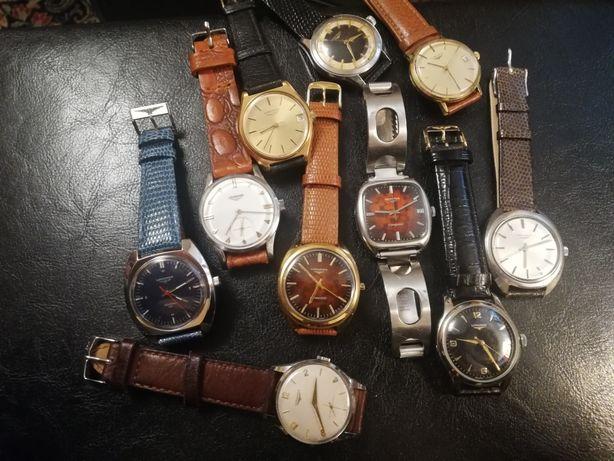 Szwajcarskie zegarki vintage Longines, Omega, IWC, Schaffhausen, JLC