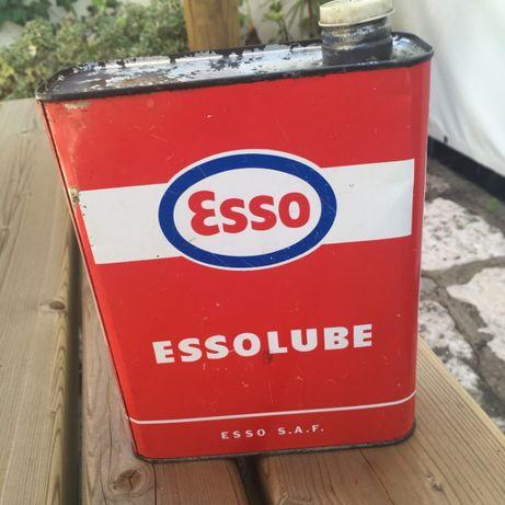 lata oleo Esso
