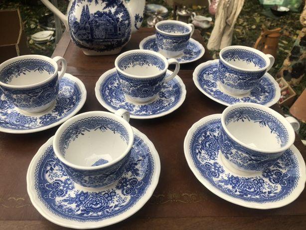 Niebieski serwis Villery&boch