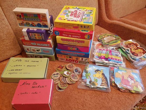 Развивающие и обучающие игры для детей 1-4 года