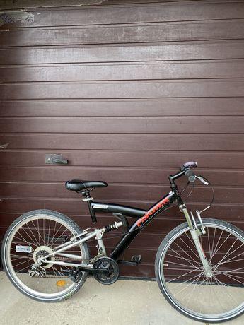 Велосипед німецький Fischer двохпідвісний на Shimano відмінний стан