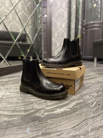 Стильные ботинки Dr Martens Chelsea Black/сапоги мартинс/мартинсы