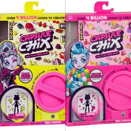 Набор капсула чик с куклой , Capsule Chix Оригинал из США