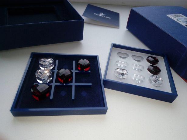 Подарочный набор кристаллы Swarovski оригинал - игра крестики нолики