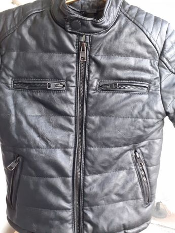Куртка для мальчика с экокожы