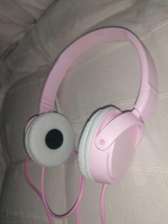 Auscultadores Sony rosa