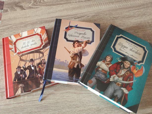 3 przygodowe książki (nowe)