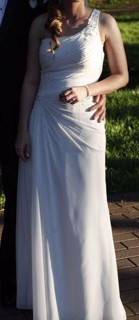 Suknia ślubna firmy White One, rozmiar 34 + pokrowiec