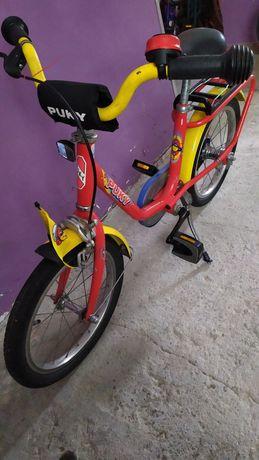 Rower Puky 16' / czerwony