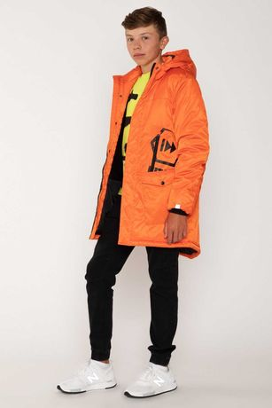 Парка пальто яркое , молодежное, утепленное деми от 140 до 176 р