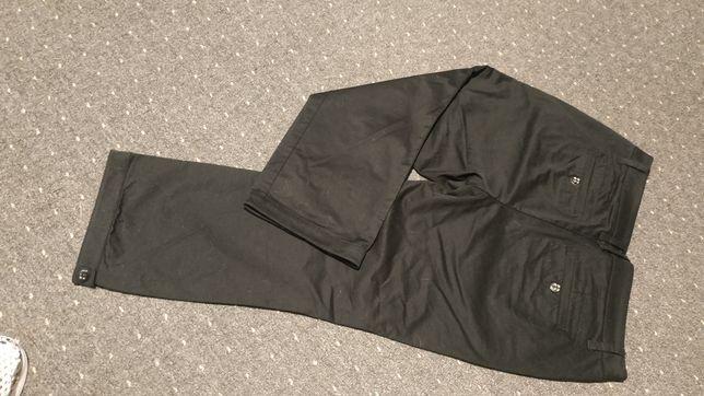 Rewelacyjne Czarne spodnie dł. 3/4 zawsze modne 42