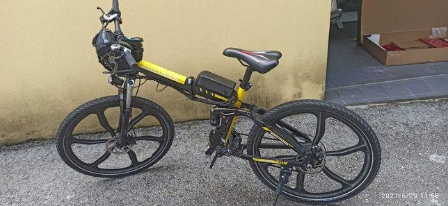 Bicicleta Elétrica, dobrável