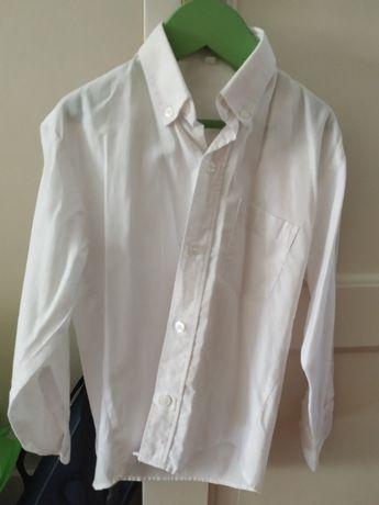 Camisa branca 6 anos