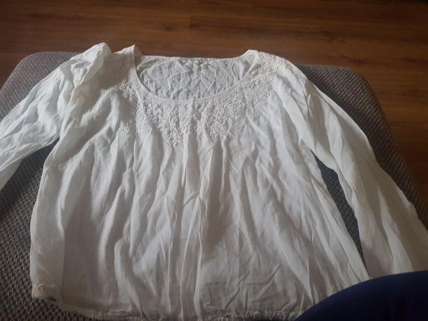 Bluzka biała  niezniszvxone