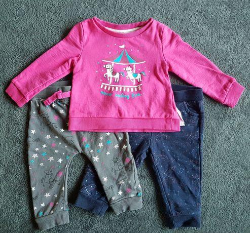 Zestaw bluza + 2x spodnie SoCute (Pepco) roz. 68
