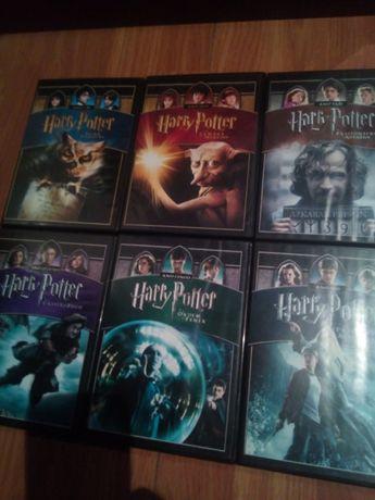 6 filmes dvd harry potter