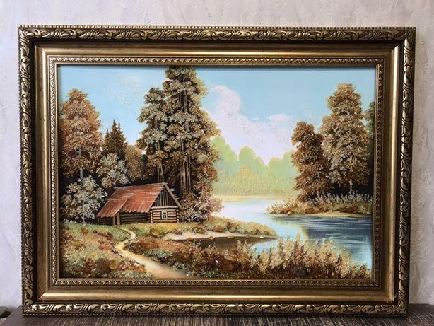 Картини з бурштину 50*70 см