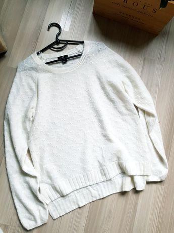 Белоснежный свитерок приятнейший свитер кофта h&m