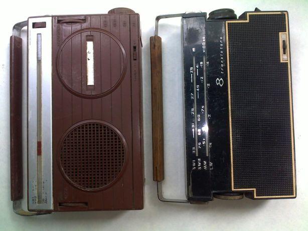 Радио приемник транзистор россия и старт ссср - цена за 2 штуки