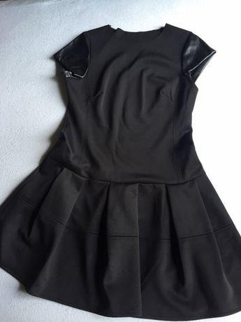 Piękna czarna sukienka roz L