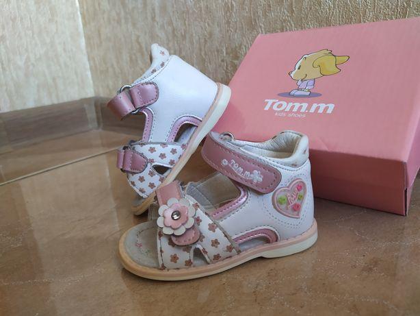 Босоножки ортопедические Tom.m сандали кожаные Том.м