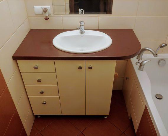 Szafka do łazienki z umywalką, baterią i klikiem - rezerwacja do 31.11