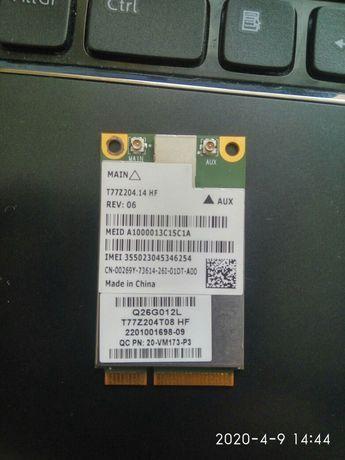Dell 5630 3G модем внутрішній під SIM