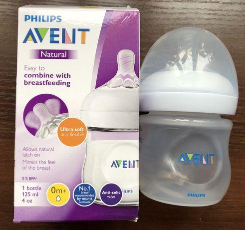 Бутылочка для кормления Пляшечка Philips Avent Natural 125 мл
