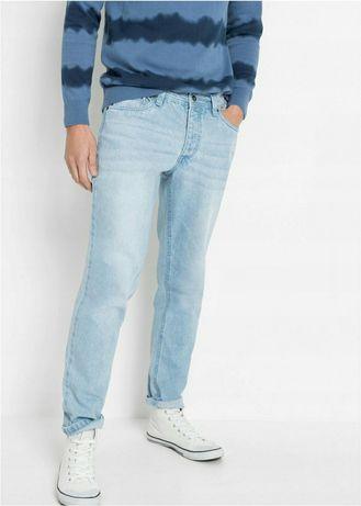 Nowe męskie spodnie jeans rozmiar 54 W38 wzrost 182 cm