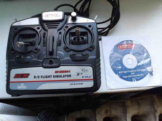 Симулятор полетов моделей самолетов, вертолетов, квадрокоптеров FMS