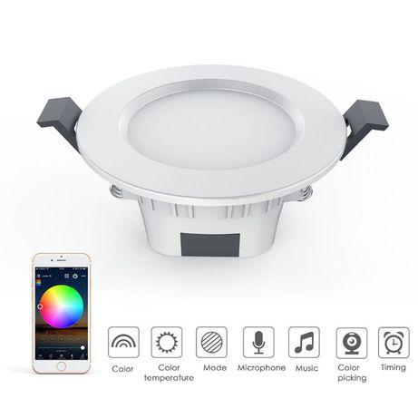 Светодиодный интеллектуальный Bluetooth светильник